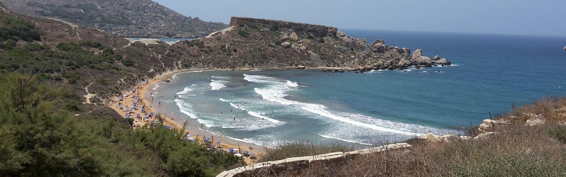 ghajn-tuffieha-bay-beach-malta